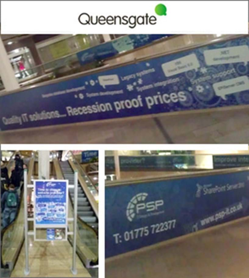 Queensgate Peterborough - Advertising extended Image