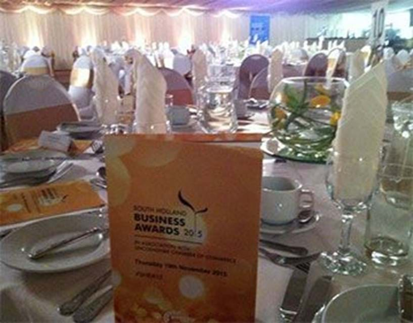PSP - proud to be headline sponsors at this year's South Holland Business Awards Image