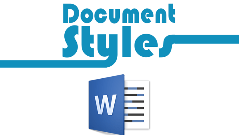 Creating your Own Document Styles Image