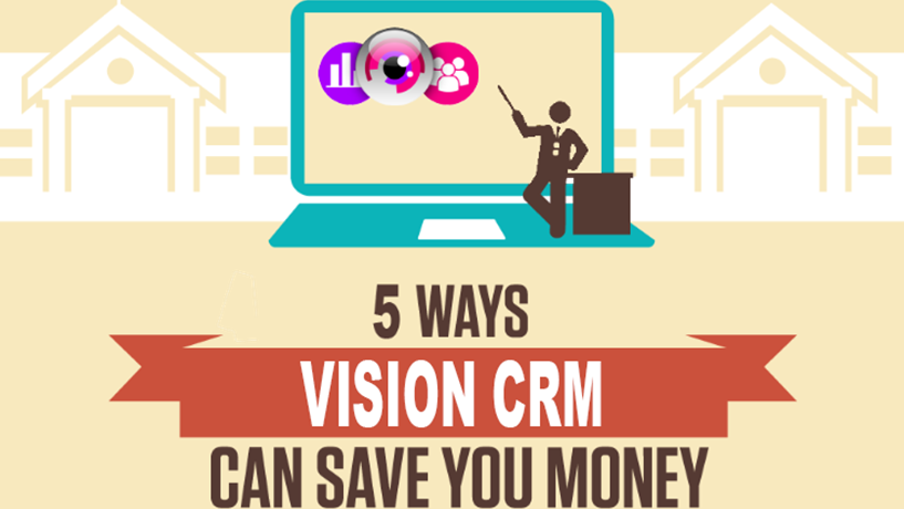 5 Ways VISION CRM Can Save you Money! Image
