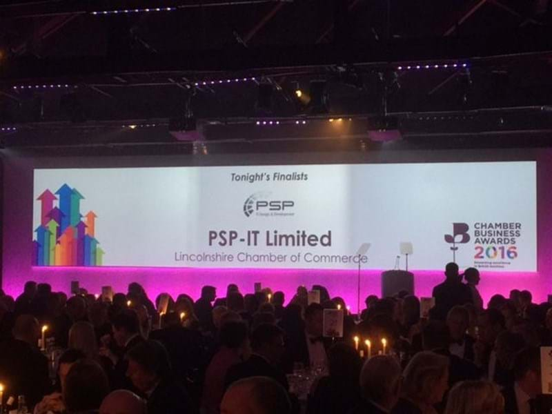 PSP Team at business awards 2016