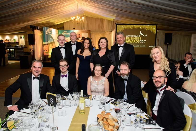 Headline Sponsor at South Holland Business Awards – 2017 Image 1