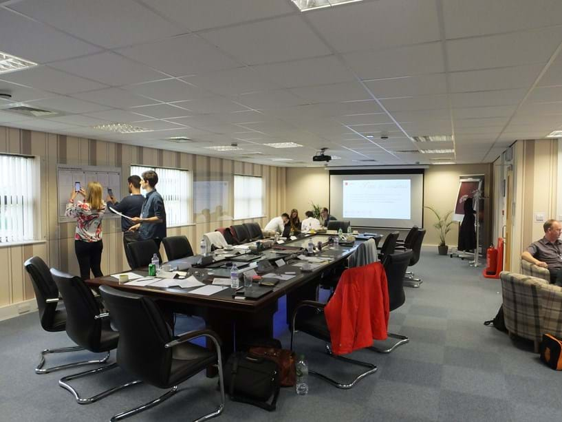 PSPBS held the first Saturday meeting event in our Conference Suite, for Microbyte Solutions Limited Image 3