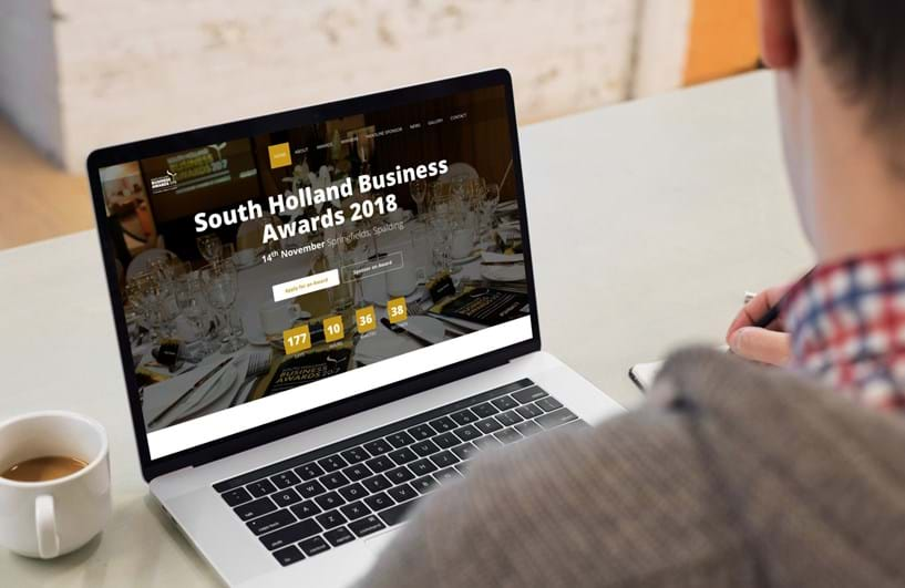 New website for South Holland Business Awards 2018 Image 3