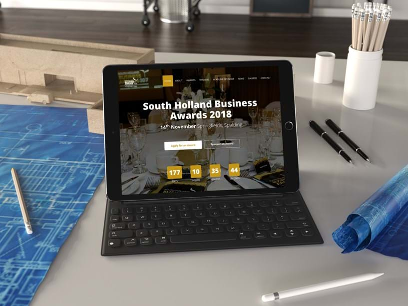 New website for South Holland Business Awards 2018 Image 1