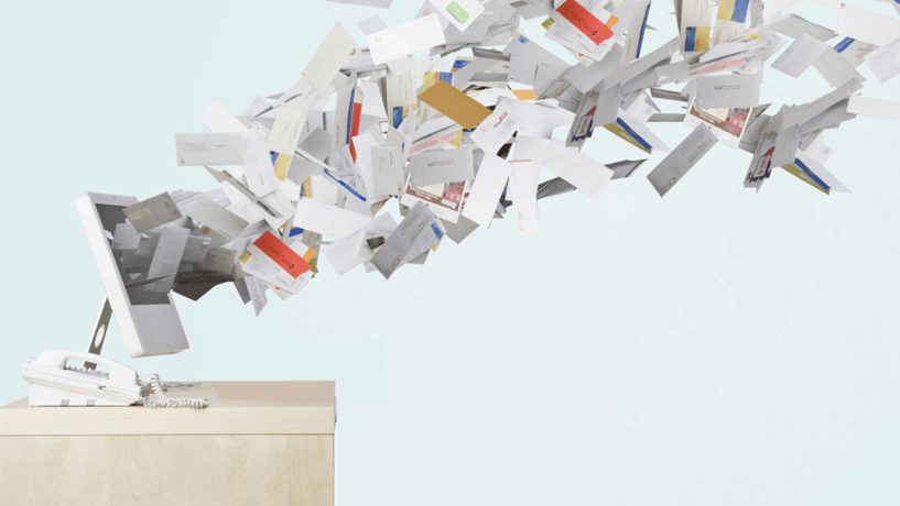 The Shocking Statistics Of Staff Email Overload Image