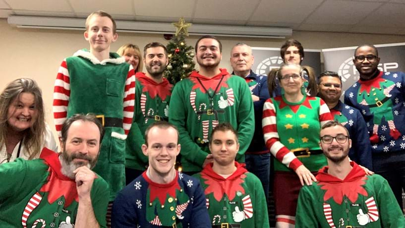 Fun Elf Day Helps To Raise Funds For Charity Image